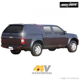Hard Top STARLUX LineXtras sin ventanas laterales, Isuzu DMAX 2007- DC