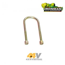 U-Bolt Ironman Trasera ( Kit para 1 ballesta )