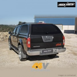 Hard Top STARLUX LineXtras sin ventanas laterales, NAVARA D40 DC