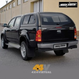 Hard Top STARLUX LineXtras con ventanas laterales correderas, HILUX 2005- DC