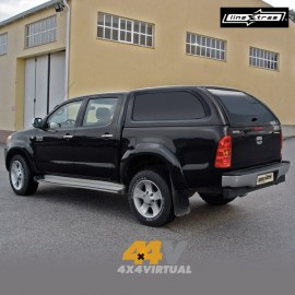 Hard Top STARLUX LineXtras sin ventanas laterales, HILUX 2005- DC