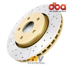 Disco de freno delantero DBA Gold Ø280mm Isuzu Dmax