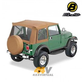 Techo blando Bestop Supertop Color Spice CJ7/YJ