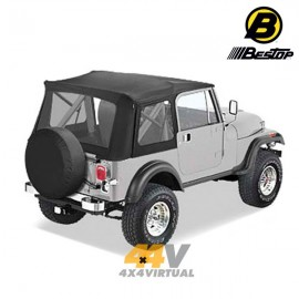 Techo blando Bestop Supertop Color Negro CJ7/YJ