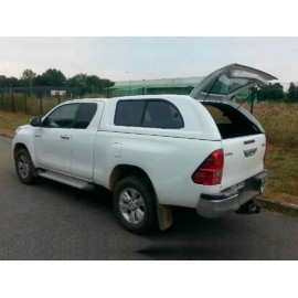 Hard Top con ventanas laterales, Toyota Hilux Revo - Extra Cab