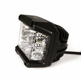 Faro Led largo alcance Side Shooter con homologación